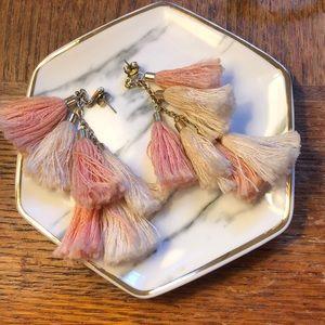 ettika Jewelry - Ettika Daydreamer Tassel Earrings
